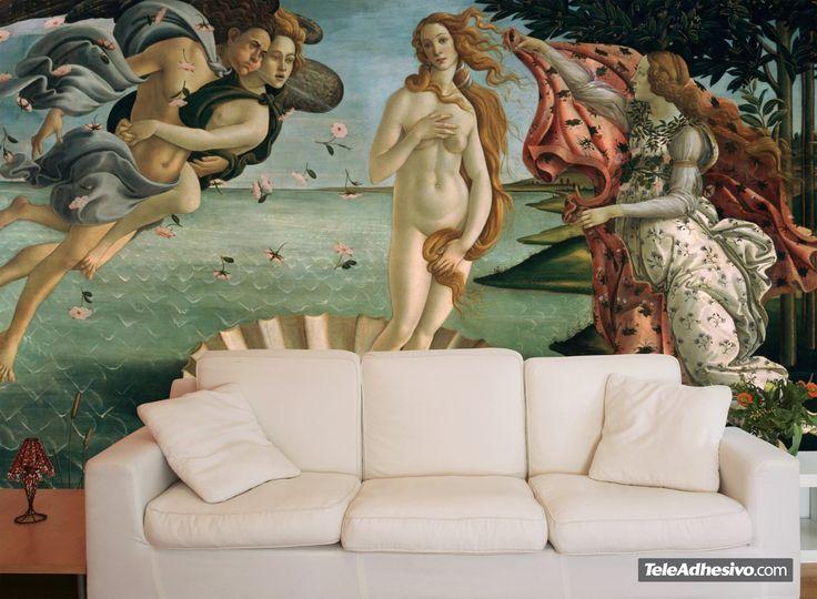 Fototapeten Die Geburt der Venus_Botticelli