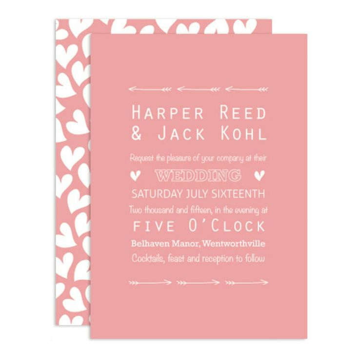 The Sweet Love invitations by Love and Ink Wedding Stationery. The full range can be found on loveandink.com.au