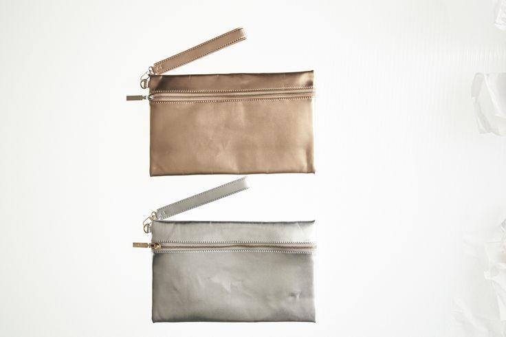Zip Front Rectangle Clutch in Rose & Silver #mysize #plussize #fashion #plussizefashion #summer #newarrivals #outfit
