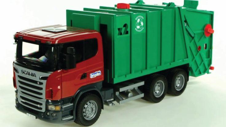 Camion dela basura para niños ✓ Camion dela basura infantil ✓ Carritos p...
