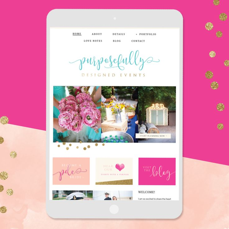 Website Launch | Purposefully Designed Events — Hello Big Idea