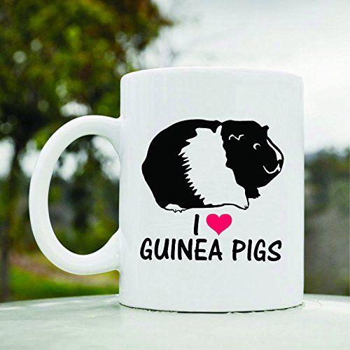 I Love Guinea Pigs Cute Funny 11oz