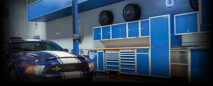 Metal Garage Cabinets | Enclosed Trailer Cabinets | Moduline Cabinets