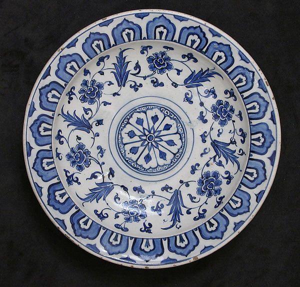 Dish, Turkey Iznik, 16th century.