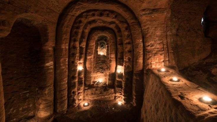Rabbit hole leads to incredible 700-year-old Knights Templar cave complex | Fox News
