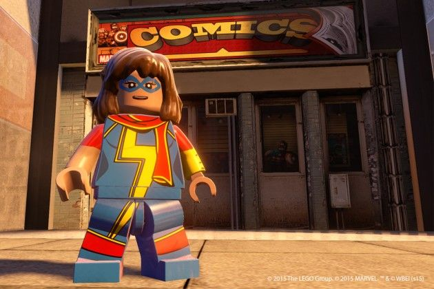 Kamala Khan joins the new LEGO The Avengers game!