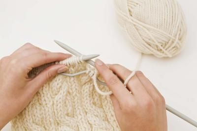 large cable knit blanket how to