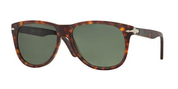 Persol per uomo po3103s (CLASSIC)  - 900131 (HAVANA\/green), Occhiali da Sole Calibro 56