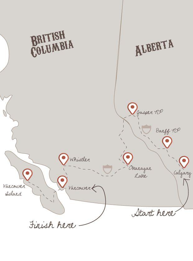 Discover BC & Alberta   The American Road Trip Company