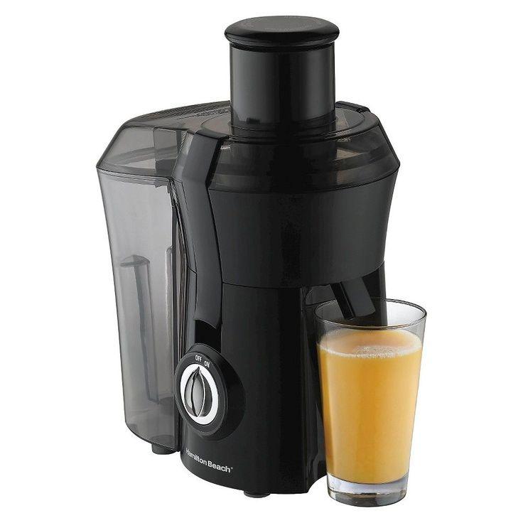 Hamilton Beach Big Mouth Juice Extractor - 67602, White/Green