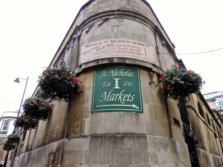 blog-Of Golden Roses: St. Nicholas' Market | Bristol, England