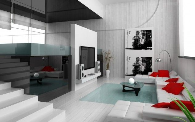 20 Ideas Of Red And White Combos That Give Your Living Room A New Lease Of Life - Top Inspirations