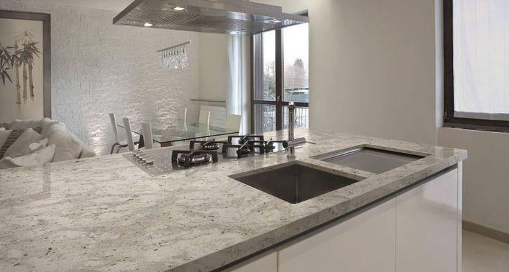Las 25 mejores ideas sobre encimeras de cocina de granito en pinterest cocina actualizada - Encimera cocina granito ...