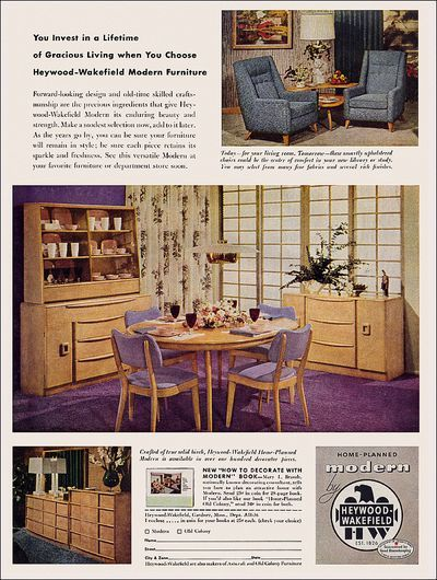 Modern Furniture Ads 19 best vintage ads images on pinterest | vintage ads, vintage