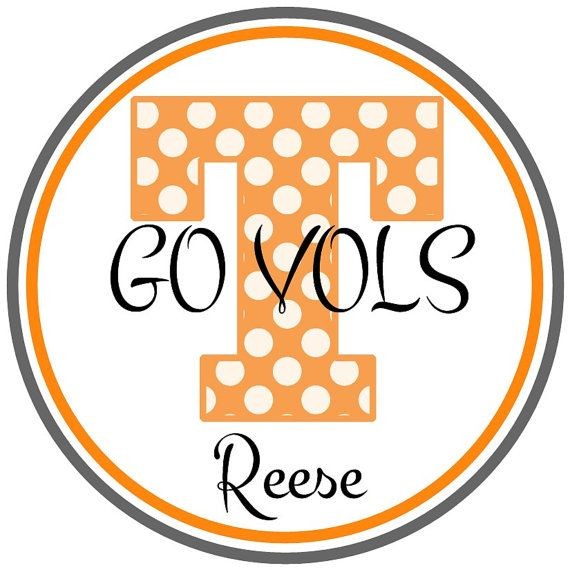 Football time in Tennessee Go Vols by GigglesToGo on Etsy, $5.00