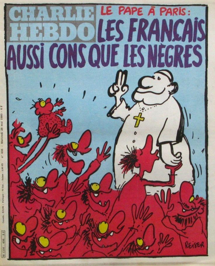 Charlie Hebdo - # 498 - 28 Mai 1980 - Couverture : Reiser