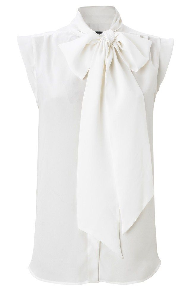 French Connection Sub Silky Tie Top