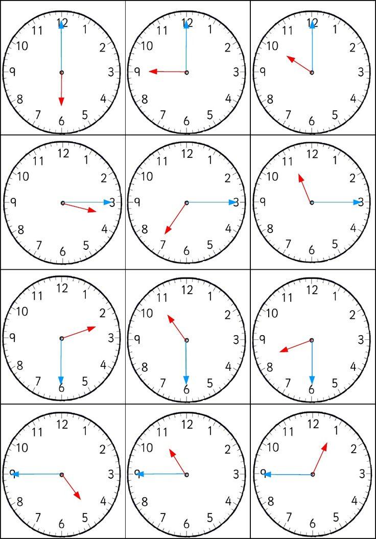 Mejores 34 imágenes de El reloj y las horas en Pinterest
