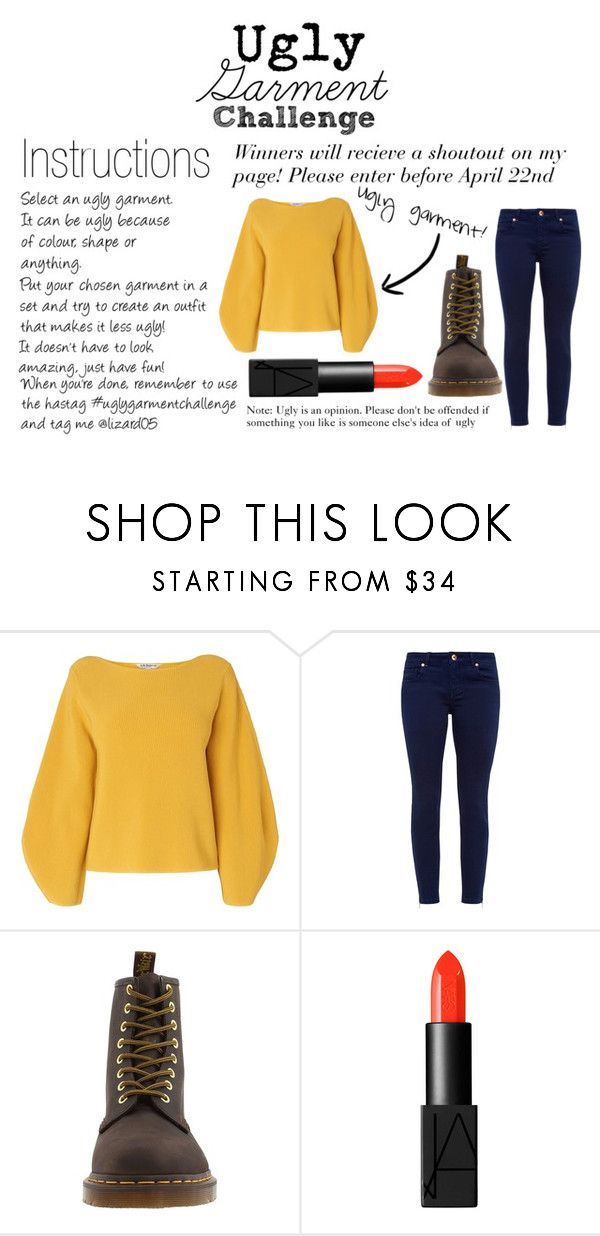 """Ugly Garment Challenge! Please read"" by lizard05 ❤ liked on Polyvore featuring L.K.Bennett, Ted Baker, Dr. Martens, NARS Cosmetics and uglygarmentchallenge"