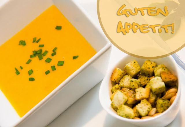 Küchenheldinnen: Kürbis-Ingwer-Kokosmilch-Suppe