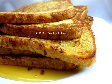 Just Try & Taste: French Toast