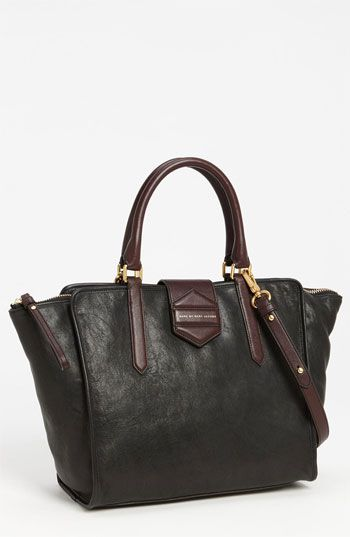 marc by marc jacobs leather tote.