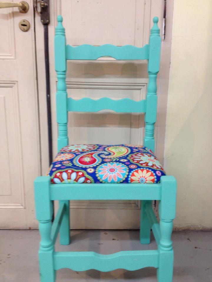 72 mejores im genes sobre sillas pintadas en pinterest - Sillas antiguas restauradas ...