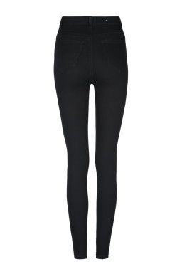 Black High-Waisted Ripped Trouser TALLY WEiJL