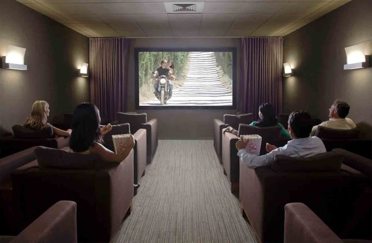 home music and theater room combo