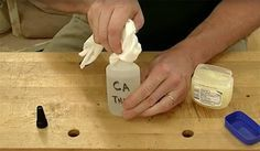How to prevent cyanoacrylate glue caps from getting stuck. Keep CA glue bottle nozzles clear by applying petroleum jelly.