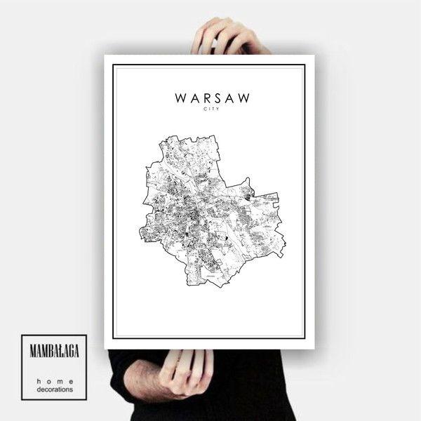 plakat_WARSZAWA III - MAMBALAGA - Plakaty typograficzne