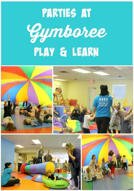 A review of birthday parties at Gymboree Play and Learn!