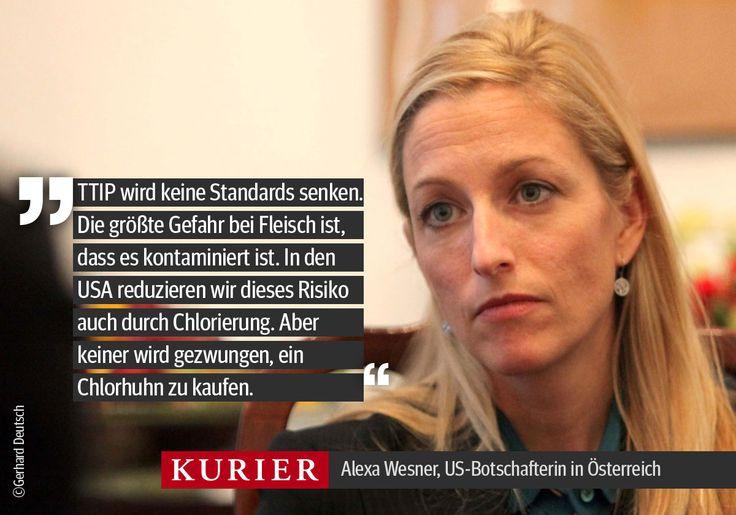 Alexa Wesner, US-Botschafterin in Österreich im Interview mit Ida Metzger, September 2014