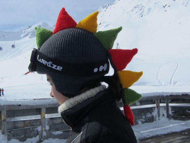 Cute Funny Dragon Ski Helmet Cover