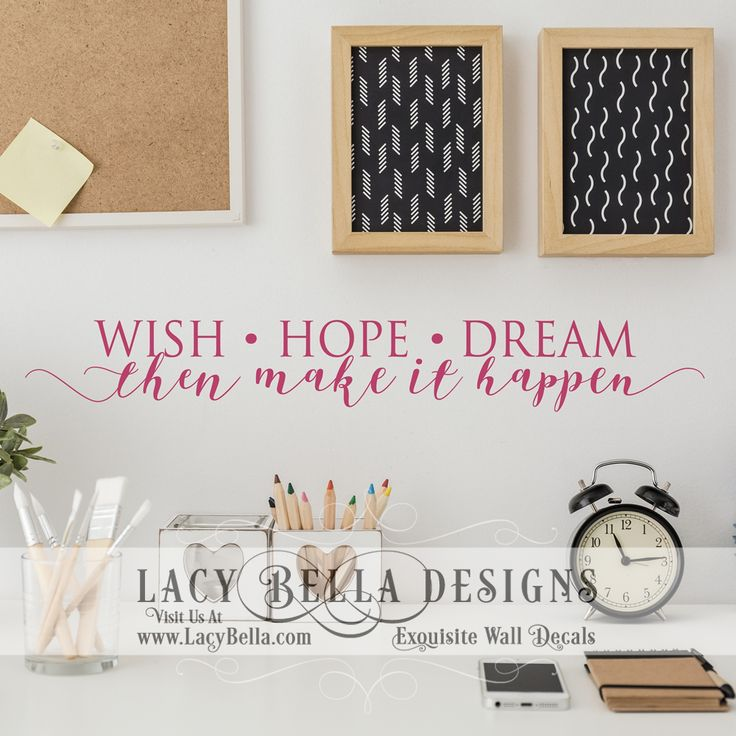105 best images about Motivational  Inspirational Wall Decal
