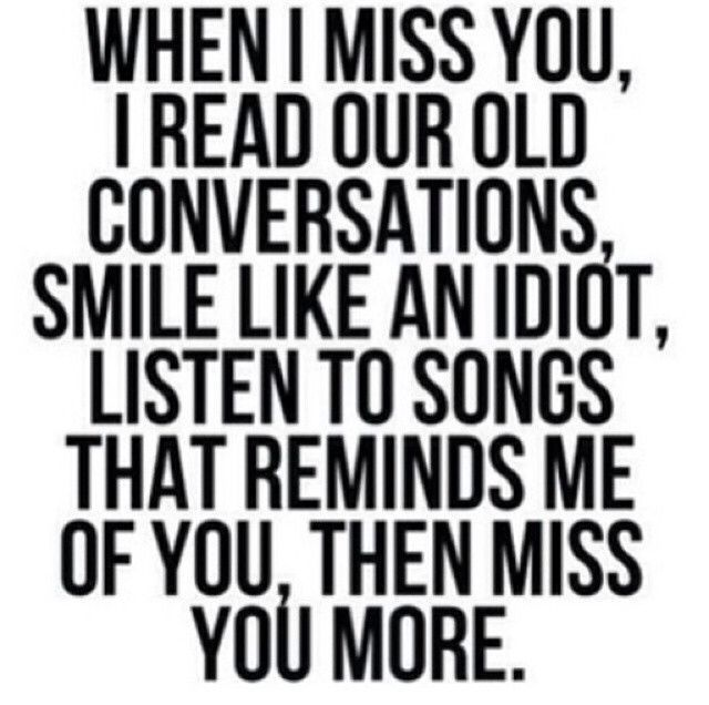 When I Miss You love quotes smile i miss you songs more read listen in