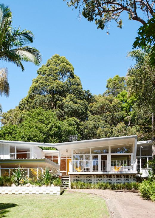 A supremely photogenic mid century gem on Sydney's Northern Beaches.