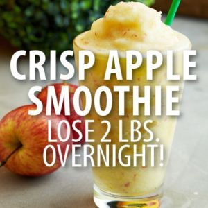 Dr Oz: Crispy Apple Smoothie Recipe + Shrink Drinks Rapid Weight Loss. Not pinning to lose weight but because it sounds delic