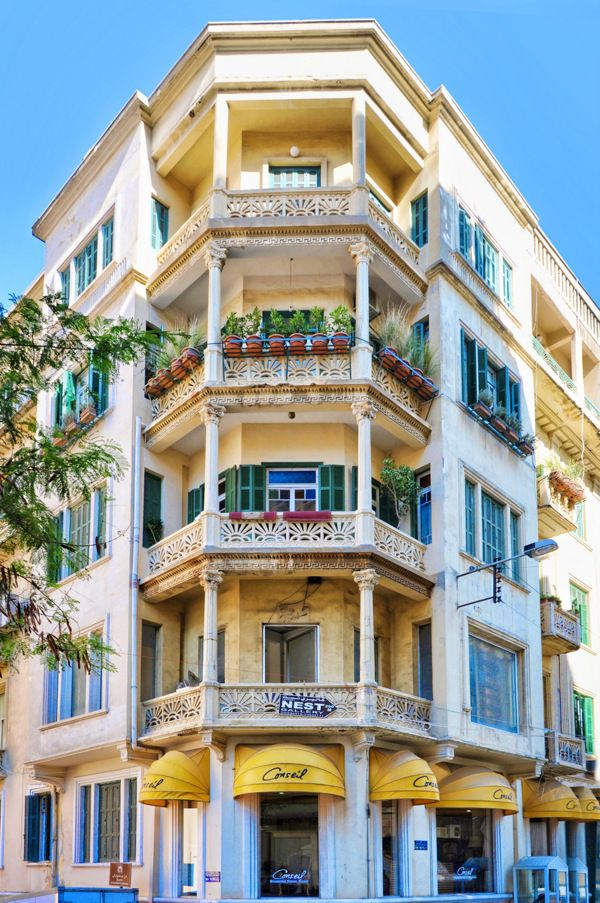Gorgeous Old Apartment Building In Beirut, Lebanon. Part 81