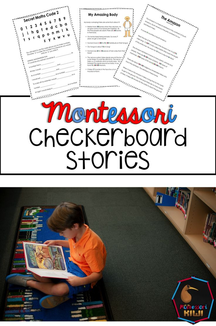 These 10 number stories are great for adding context to big numbers in your montessori elementary math program. All numbers used in the story are Montessori color coded e.g. numbers in the units are written in green.  This activity works alongside introducing reading numbers on the checkerboard to your students.