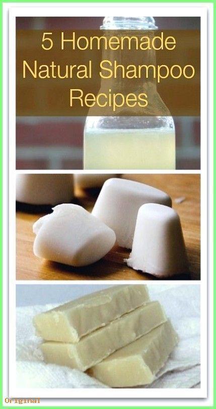 50+ Skin Care - 5 Homemade Natural Shampoo Recipes V # HomemadeSch ....  -  Hautpflege-Rezepte