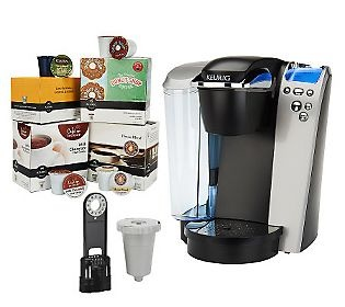 Keurig Platinum Plus Series Brewer w/ 64 K-Cups, Filter & My K-Cup QVC, The o jays and So