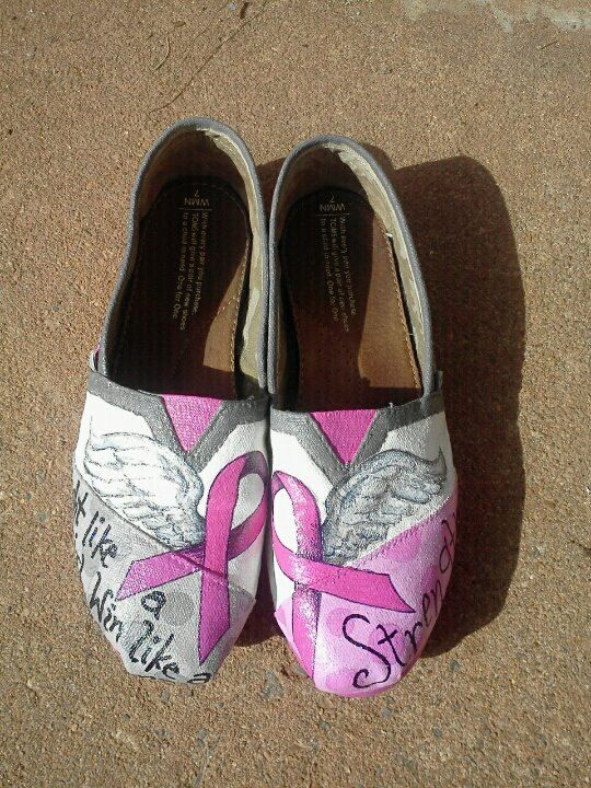 I don't like Toms but these are cool. This girl hand paints them!