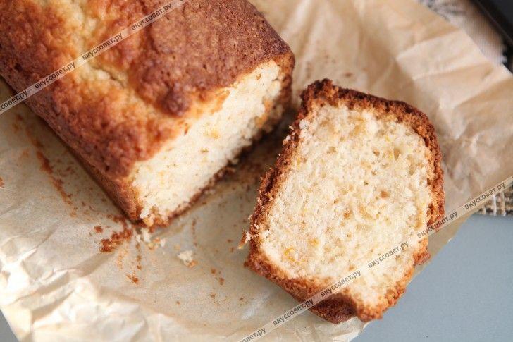 Ванильный кекс пошаговый рецепт с фото