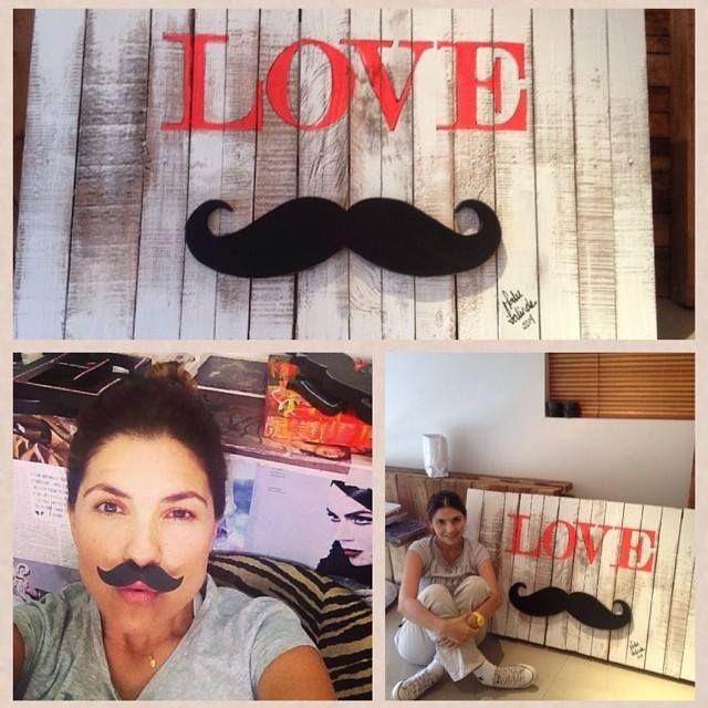 palets love♥ mustache Cali;Colombia Divina creacion