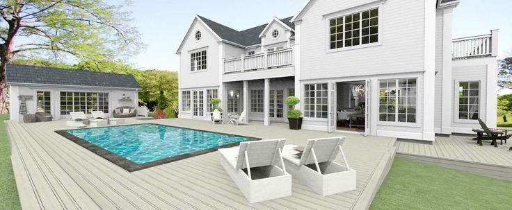 Dreams & Coffees arkitekt- och projektblogg: New England hus i Djursholm