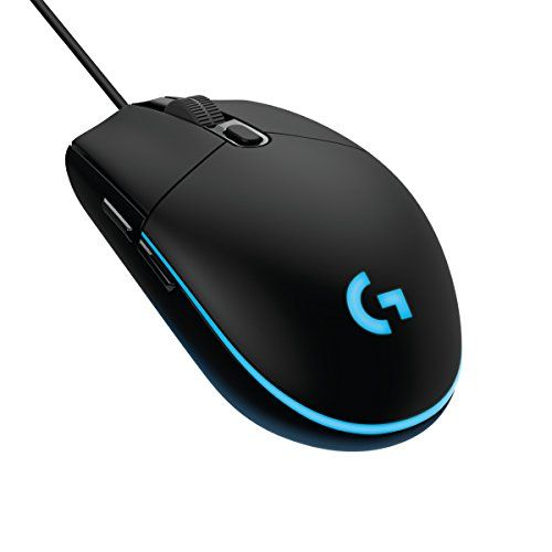 Cheap Logitech G203 Prodigy Gaming Mouse - Optical 6000 DPI 16.8M Colour LED Customizing Wired Gaming Mouse deals week