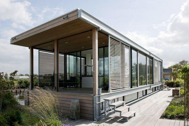 1000 images about houseboat woonark on pinterest. Black Bedroom Furniture Sets. Home Design Ideas