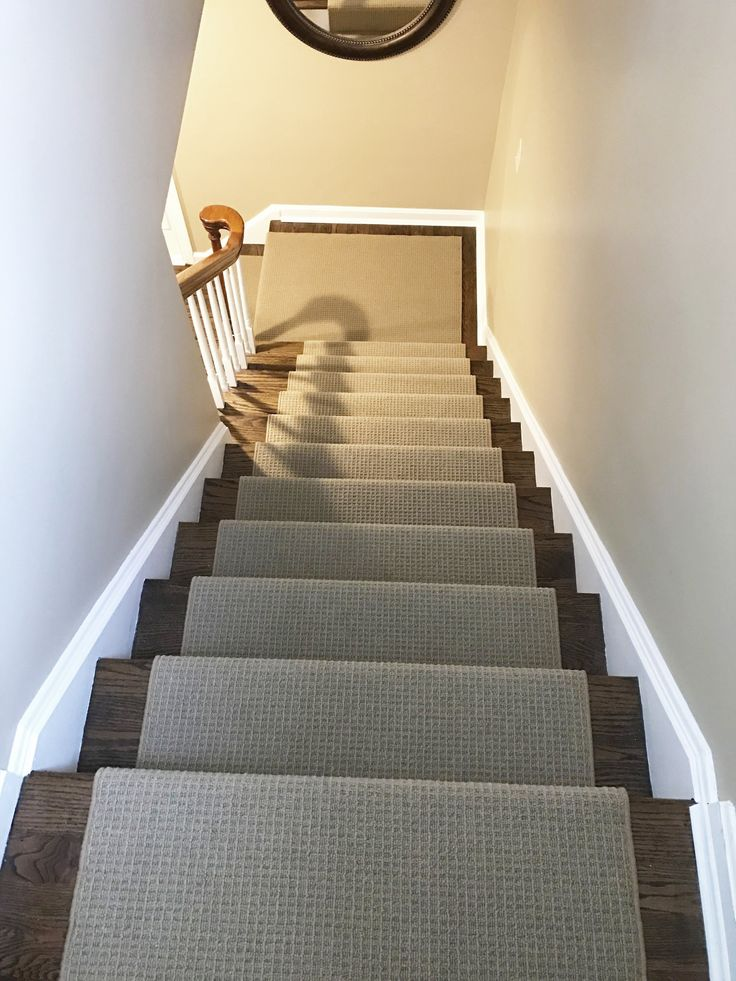 How Gorgeous Is This Newly Installed Stair Runner