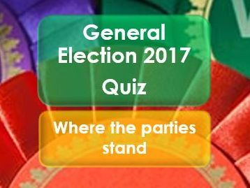 Citizenship: General Election 2017: Quiz: Where the parties stand